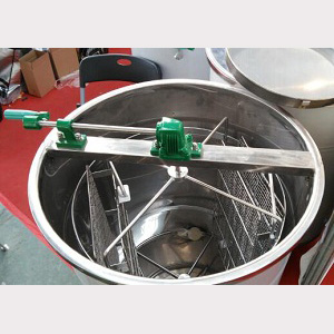 2-frame-manual-reversible-stainless-steel-honey-bee-extractor-for-sale