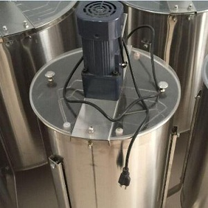 3 frame electric stainless steel honey extractor for sale