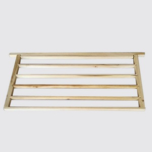 Beekeeping Fir wooden single line royal jelly producing bee hive frame