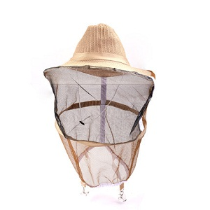Beekeeping equipment linen cotton beekeeper hat for sale