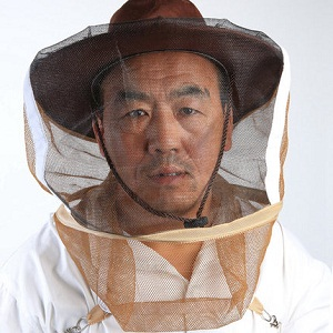 Beekeeping equipment nylon beekeeper hat for sale