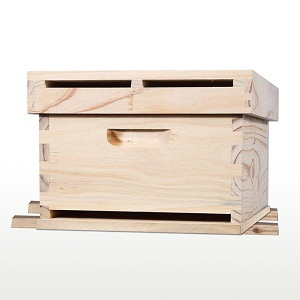 Beekeeping simplex pine wooden beehive for sale