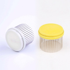 Beekeeping tools supplies circle steel cap type needle queen bee cage