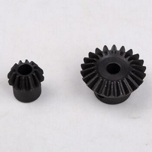 Black cast iron honey extractor gear