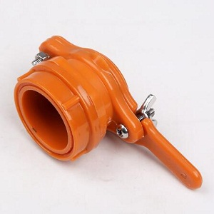 Orange color nylon honey gate