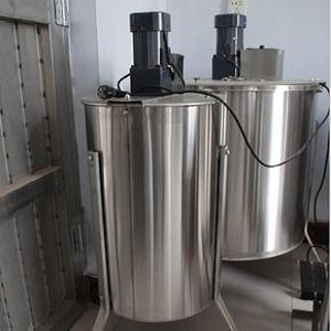 3 frame electric stainless steel honey extractor