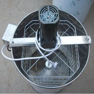 4 frame electric stainless steel honey bee extractor for sale