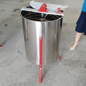 4 frame manual stainless steel honey extractor for sale