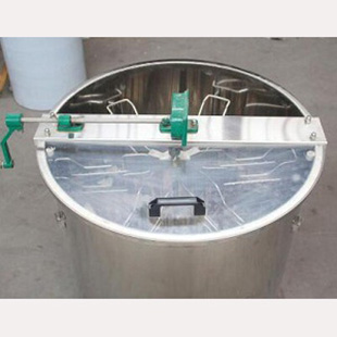 6-frame-manual-stainless-steel-honey-bee-extractors