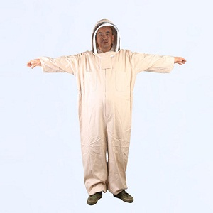 Beekeeping equipment thickening cotton full body beekeeper suit