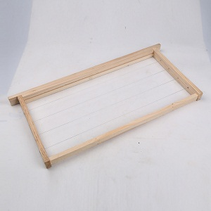 Beekeeping fir wooden wired beehive frames for sale