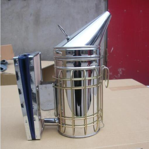 Beekeeping stainless steel leather bee smoker for sale