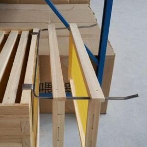 Beekeeping supplies stainless steel beehive frame perch