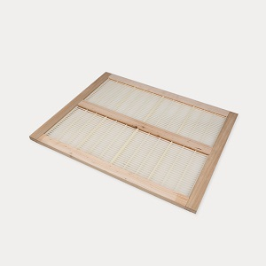 Beekeeping supplies wooden frame plastic bee queen excluder