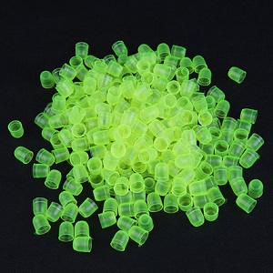 Beekeeping tools green plastic queen cell cups for sale