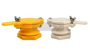 White yellow color plastic honey gate