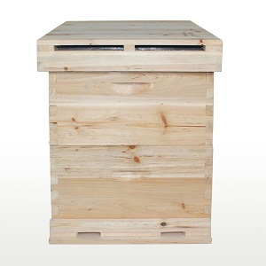 beekeeping double layer drying fir wooden beehive