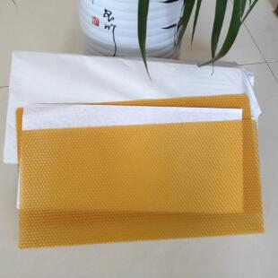 pure beeswax foundation sheet